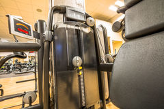 Interior of modern gym Royalty Free Stock Photography