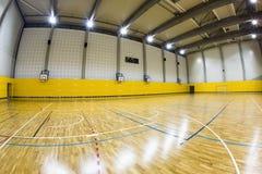 Interior of a modern  gymnasium Royalty Free Stock Photo