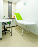 Interior of modern healthy beauty spa salon. Treatment room. Interior of healthy beauty spa salon. Modern equipment in treatment room. Luxury relax therapy Stock Images
