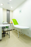 Interior of modern healthy beauty spa salon. Treatment room. Interior of healthy beauty spa salon. Modern equipment in treatment room. Luxury relax therapy Royalty Free Stock Photography
