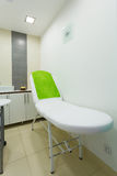 Interior of modern healthy beauty spa salon. Treatment room. Stock Image
