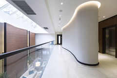 Interior of a modern hotel lobby.  Stock Images