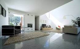 Interior modern house Stock Images