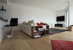 Interior of a modern house Royalty Free Stock Photography