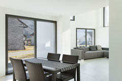 Interior of a modern house Royalty Free Stock Images