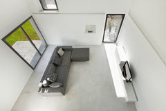 Interior of a modern house Royalty Free Stock Photo