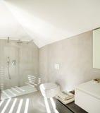 Interior of a modern house, bathroom Stock Photo