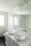 Interior modern house, bathroom Stock Image