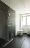 Interior modern house, bathroom Royalty Free Stock Photos