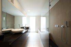 Modern house interior Royalty Free Stock Image