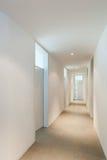 Interior of a modern house, corridor Stock Photo