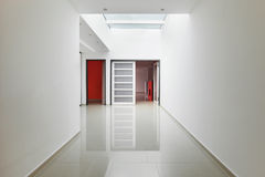 Interior modern house, corridor view Stock Photos