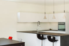 Interior modern house, kitchen Stock Image