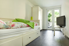 Interior modern house, room Royalty Free Stock Images