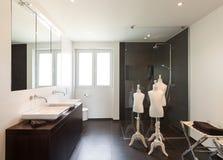 Interior modern house Royalty Free Stock Image