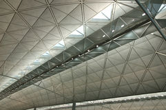 Interior of modern international airport Royalty Free Stock Photography