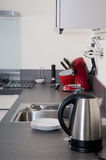 Interior of a modern kitchen Stock Photos