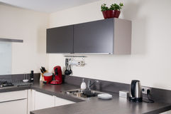 Interior of a modern kitchen Stock Photography