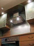Interior of the modern kitchen royalty free stock photography