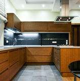 Interior of modern kitchen Royalty Free Stock Photo