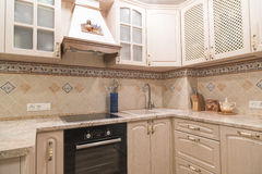 Interior of a modern kitchen Royalty Free Stock Images