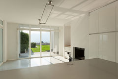 Interior, modern kitchen Royalty Free Stock Image