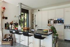 Interior of modern kitchen Stock Photography