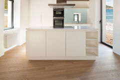 Interior, modern kitchen Royalty Free Stock Photos