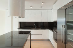 Interior, modern kitchen Royalty Free Stock Images