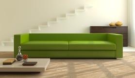 Interior of modern living-room. Stock Photos