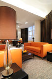 Interior of modern living-room. Design of interior. Living-room Royalty Free Stock Photos