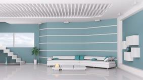 Interior of modern living room Stock Image