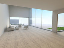 Interior of modern living-room royalty free stock photography