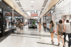 Interior of modern mall Stock Photo