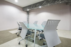 Interior of a modern meeting room Royalty Free Stock Photography