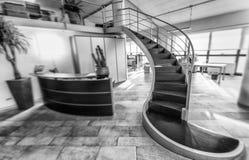 interior modern office Επιχείρηση και εταιρική έννοια Στοκ Φωτογραφίες
