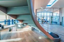 interior modern office Επιχείρηση και εταιρική έννοια Στοκ Φωτογραφία