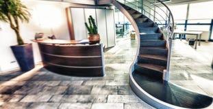 interior modern office Επιχείρηση και εταιρική έννοια Στοκ εικόνες με δικαίωμα ελεύθερης χρήσης