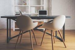 interior modern office Στοκ εικόνες με δικαίωμα ελεύθερης χρήσης
