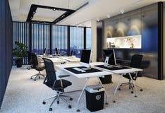 interior modern office ελεύθερη απεικόνιση δικαιώματος