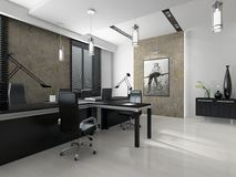 Interior of the modern office Royalty Free Stock Image