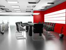 Interior of modern office 3D Stock Photo