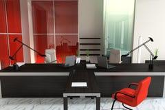 Interior of modern office Stock Photos