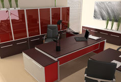 Interior of modern office Stock Photos