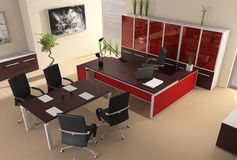 Interior of modern office Royalty Free Stock Images