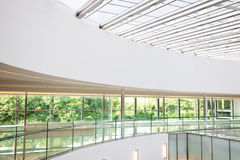 Interior of a modern office building Stock Photography