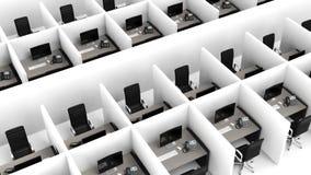 Interior of a modern office Stock Photos