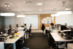 Interior of modern office. Interior of empty modern office Stock Photos