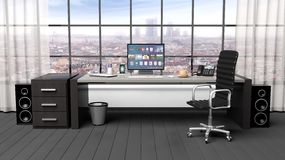 Interior of a modern office Stock Images