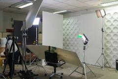 Interior modern photo studio Royalty Free Stock Photos